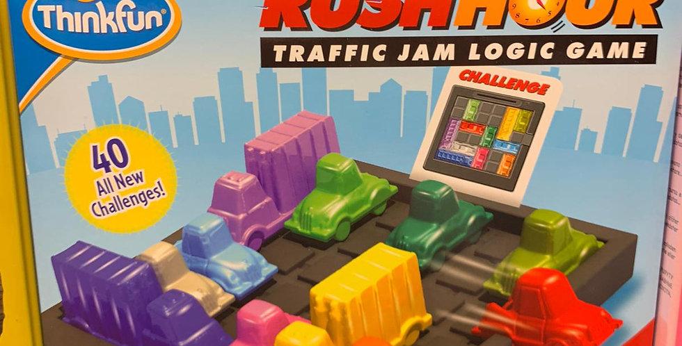 Rush hour: Traffic jam logic game
