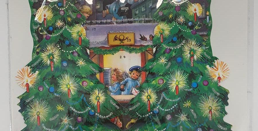 Advent Calendar: Christmas Trees