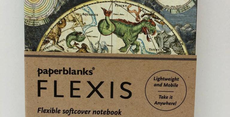 Paperblanks flexli notebook Celestial Planisphere 14x9.5cm