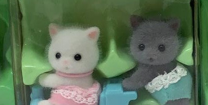 Sylvanian Families: Persian Cat Twins