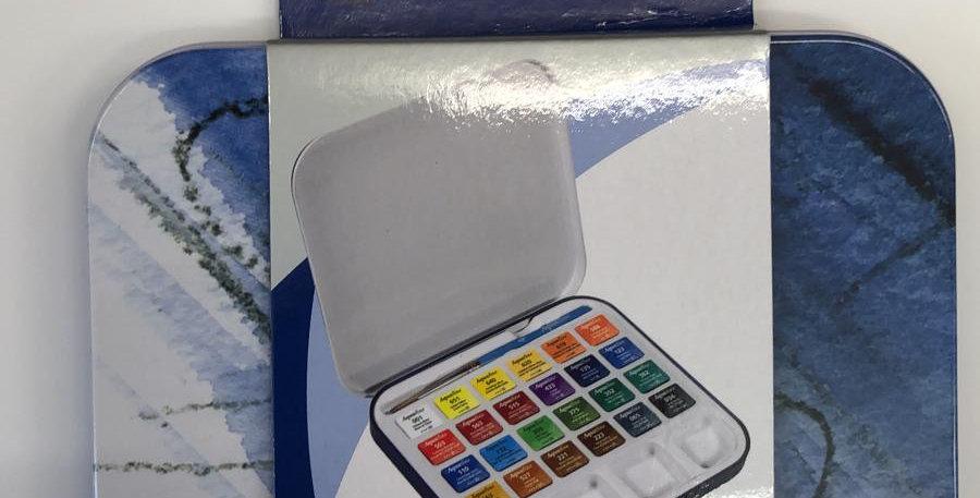 Daler Rowney: Aquafine 24 Pan Watercolour box