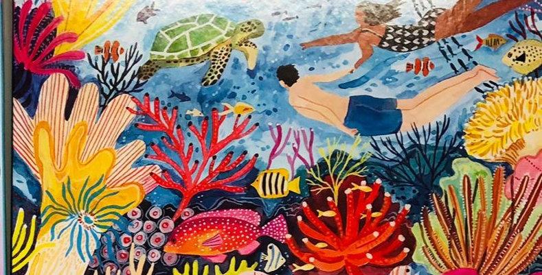 Eeboo: Coral Reef 1000 piece