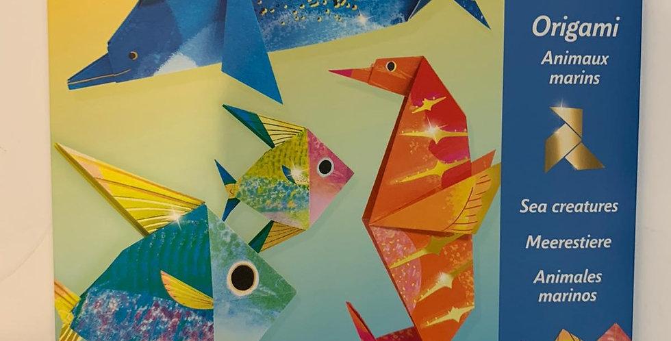 Djeco: Origami Sea Creatures