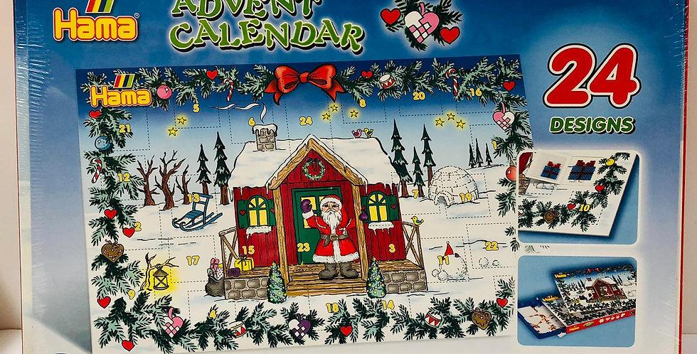 Hama: Advent Calendar includes 24 Christmas decorations to make