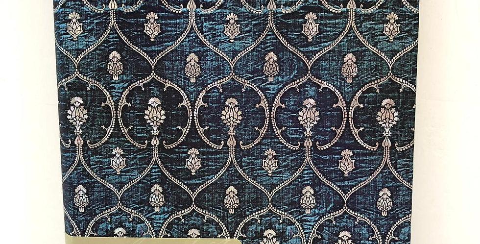 Paperblanks unlined notebook Blue Velvet 18x12.5xm
