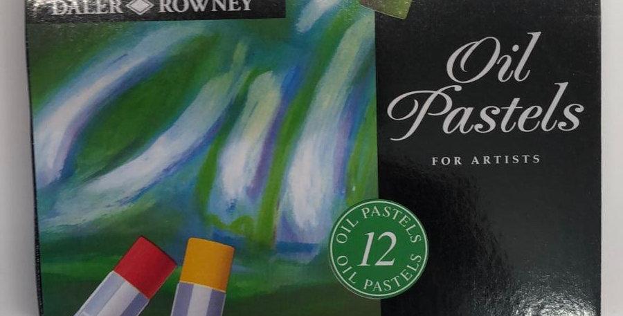 Daler: 12 Oil Pastels