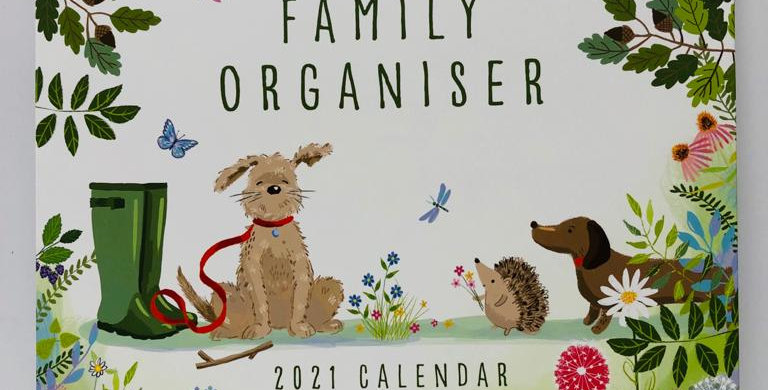 National Trust Family Organiser calendar