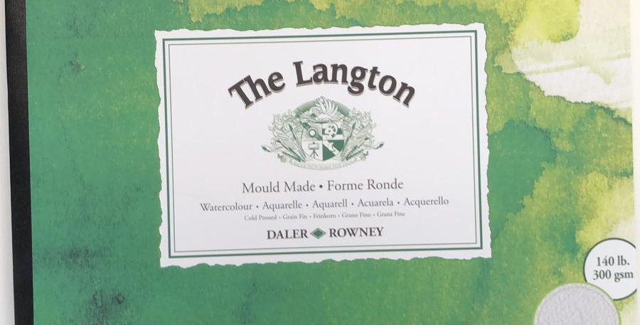Langton Watercolour pads from