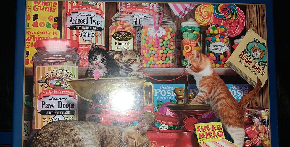 Gibsons: Paw Drops & Sugar Mice 1000 piece