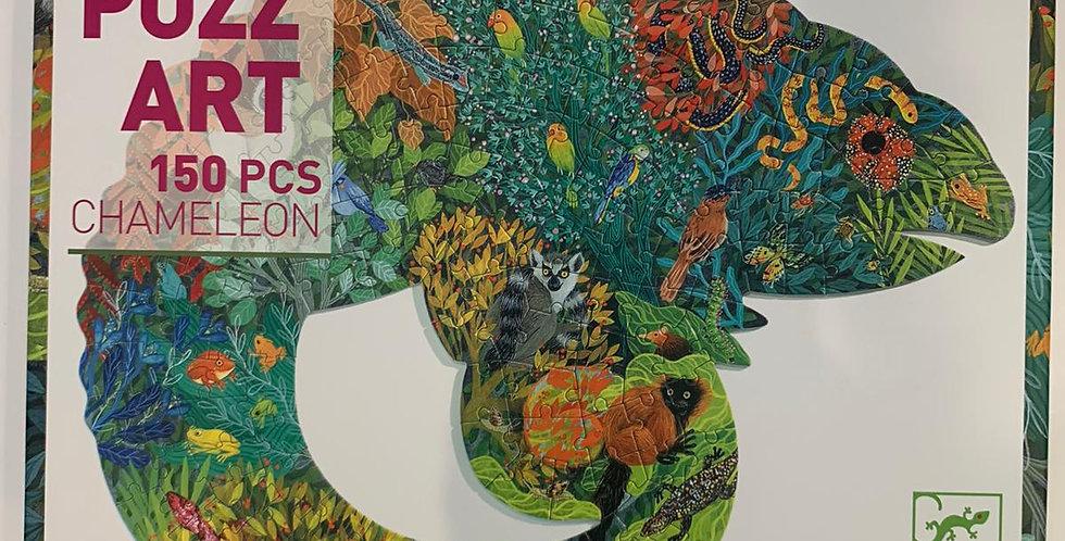 Puzz Art: 150 Piece Chameleon