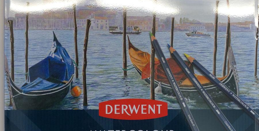 Derwent: 24 Watercolour pencils