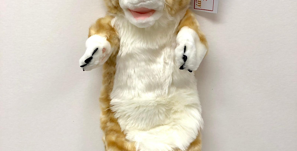 Puppet Company Ginger Cat glove puppet