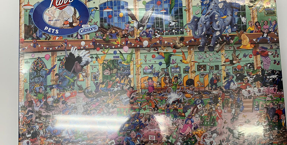 Gibsons: I Love Pets 1000 piece