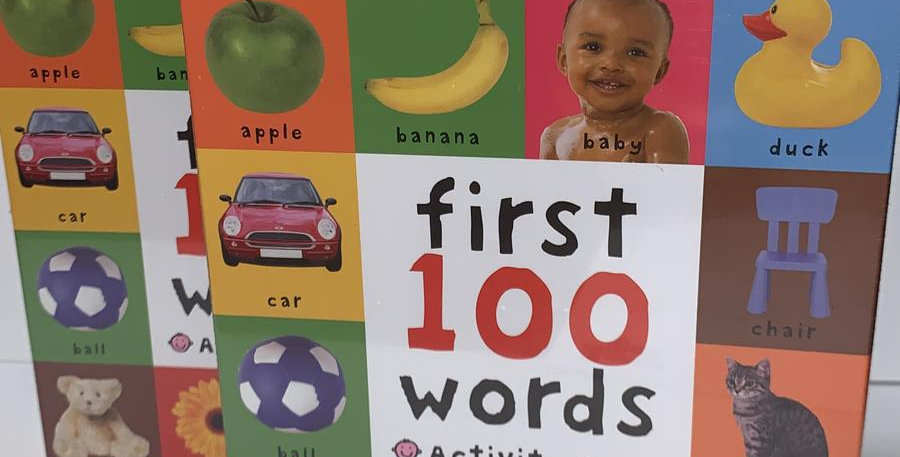 First 100 Words Activity Game Age 2+