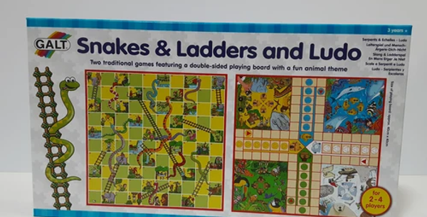Galt: Snakes & Ladders and Ludo