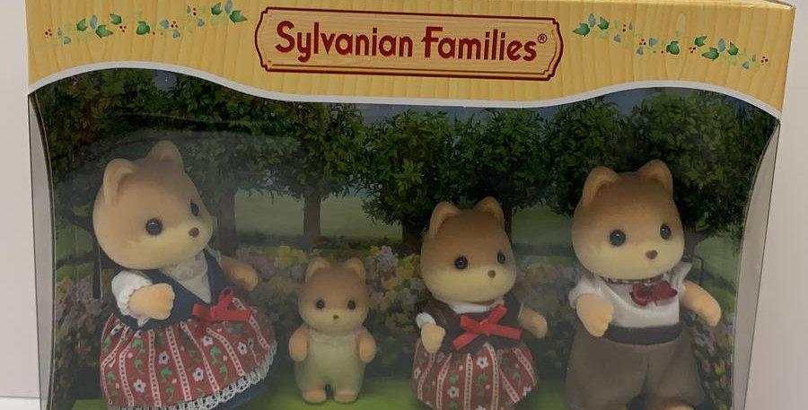 Sylvavian Families: Caramel Dog Families
