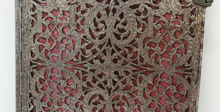 Paperblanks lined notebook Silver Filigree 23x17.5cm