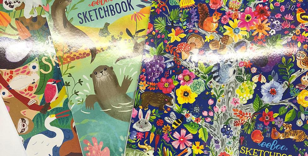 Eeboo: Sketchbooks
