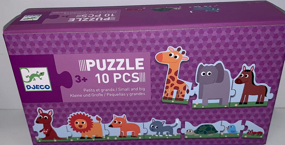 Djeco: Puzzle 10 Pcs