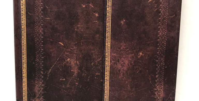 Paperblanks lined notebook Old Leather brown 23x17.5cm