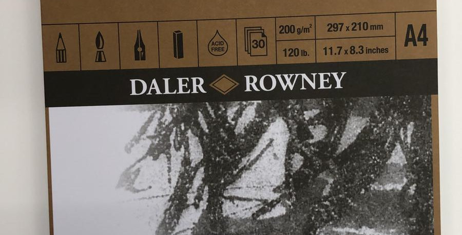 Daler Rowney: A4 Fine Grain Heavyweight pad