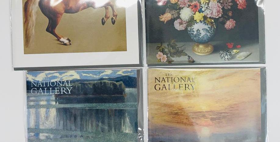 National Gallery 4 Card Bundle