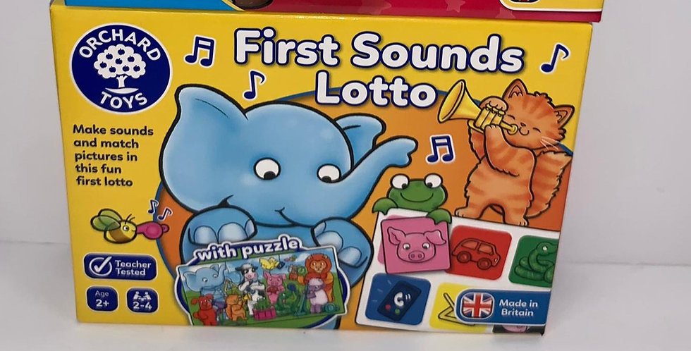 Orchard Toys: First Sounds Lotto