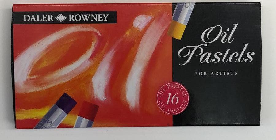 Daler: 16 Oil Pastels