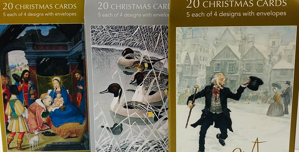Museums and Galleries packs of 20 cards