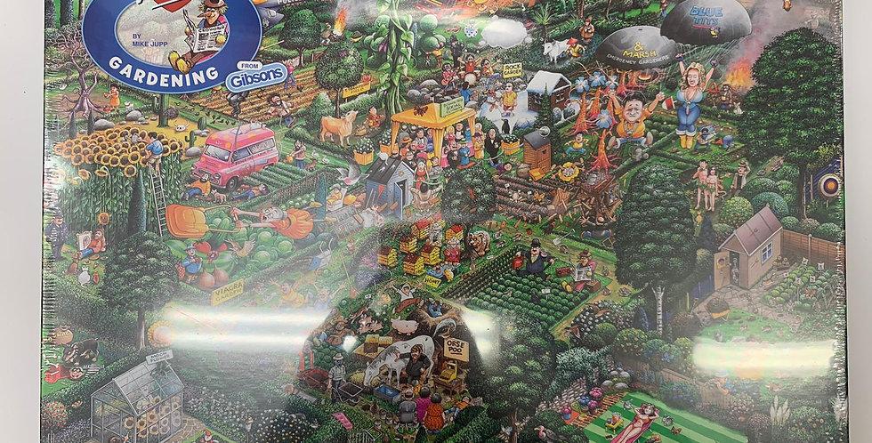 Gibsons: I Love Gardening 1000 piece