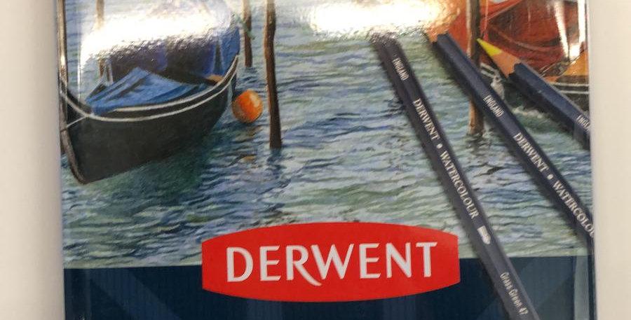 Derwent: 12 Watercolour pencils