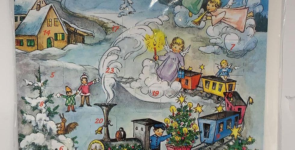 Advent Calendar: Christmas Train