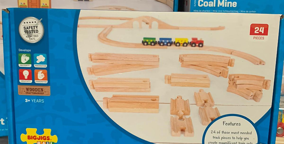 Bigjigs Rail: Curves & Straights Expansion Pack