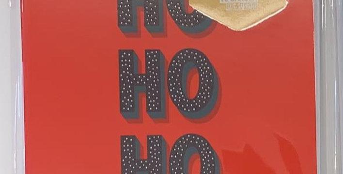 Ho Ho Ho Pack of 6 Cards