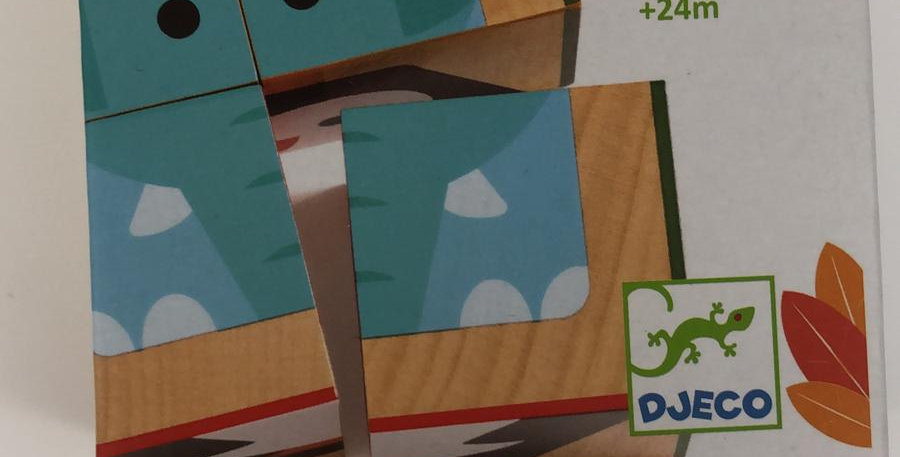 Djeco: Cube Puzzle 24 months+