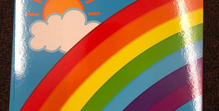 Galt: Rainbow Block coloured paper