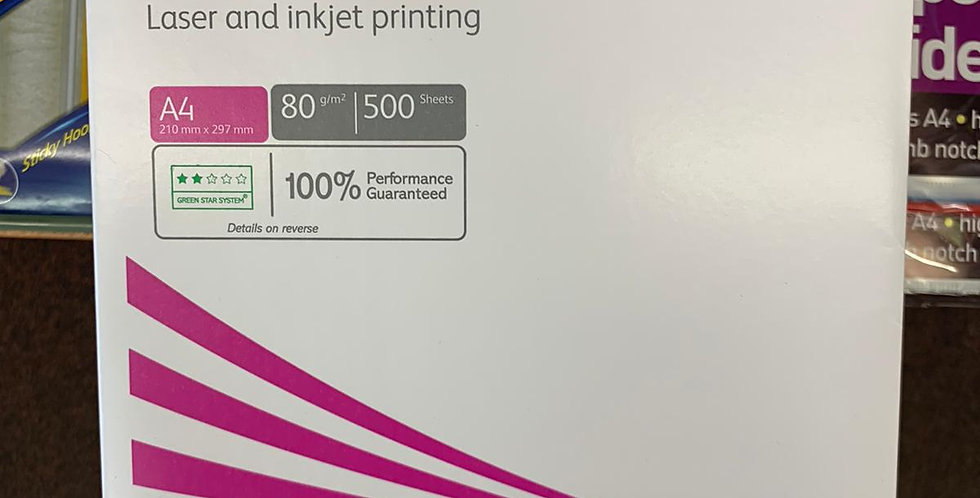 Xerox performer: Laser and inkjet printing