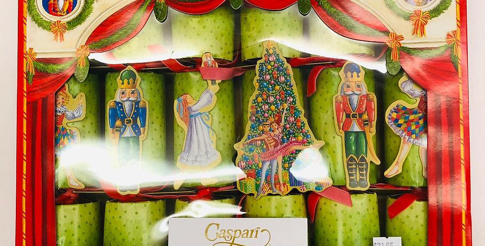 Caspari Box of 6 Luxury Crackers