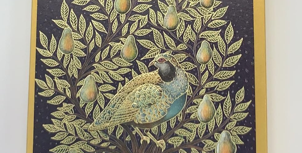 The Art File: Peacock & Pears Pack of 8 Cards