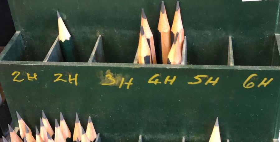 Single Graphite pencils
