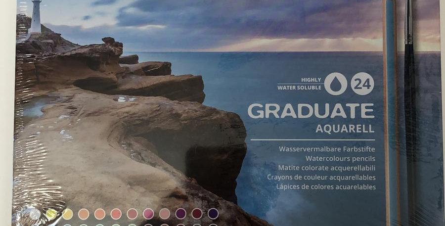 Lyra: Graduate Aquarell 24 watercolour pencils