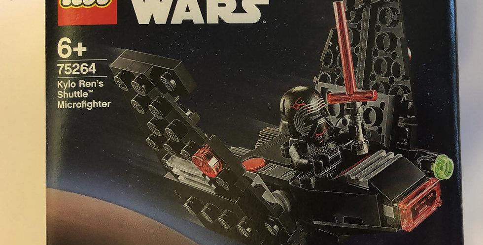 Lego Star Wars: Kylo Ren's Shuttle Microfighter