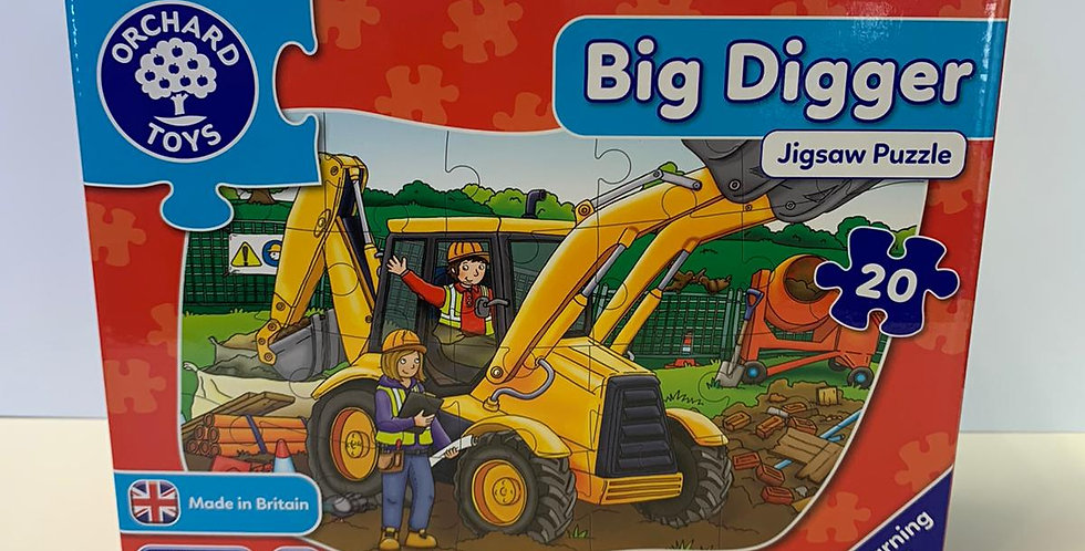 Orchard Toys:  Big Digger