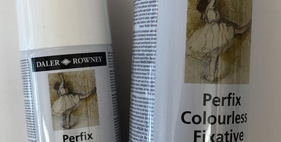 Daler Rowney: Fixative Spray from