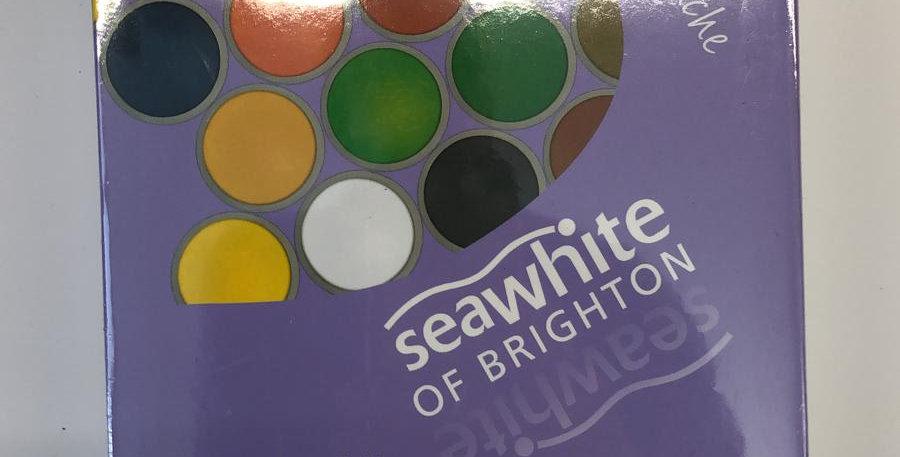 Seawhite Of Brighton: Gouache 12 x 40ml tubs