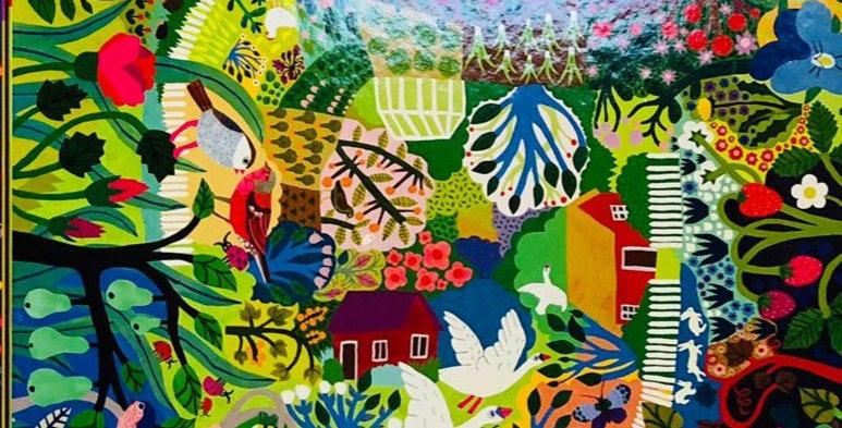 Eeboo: Bountiful Garden 1000 piece
