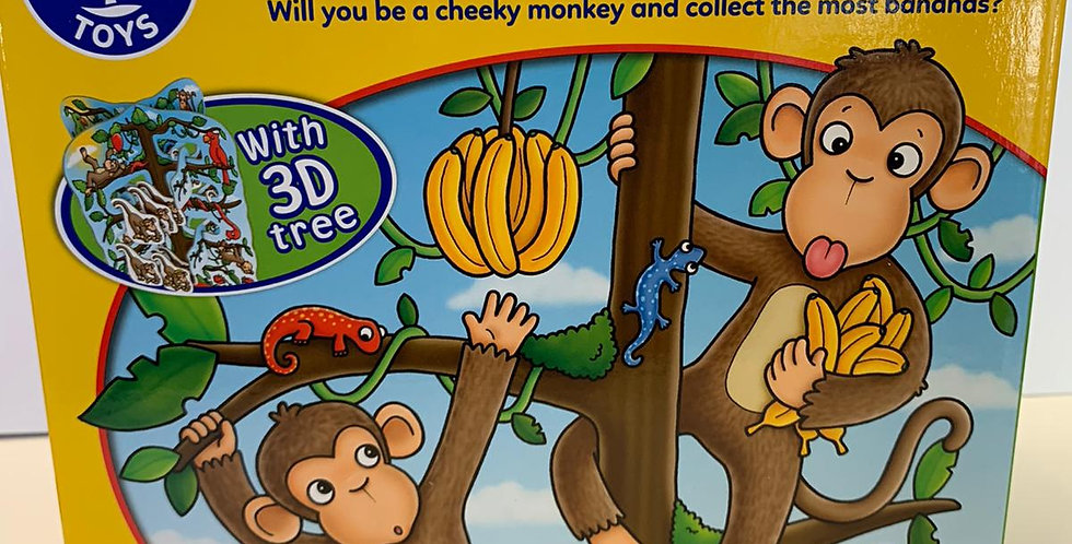Orchard Toys: Cheeky Monkeys