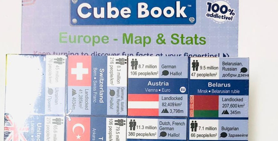 Cube Book: Europe - Map & Stats