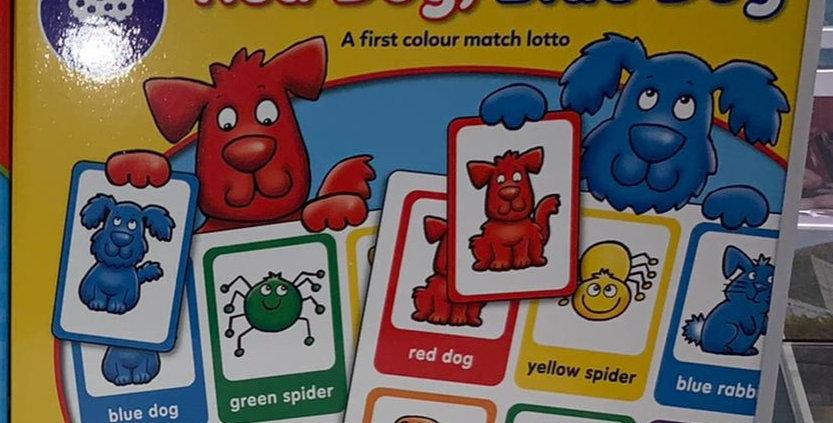 Orchard Toys: Red Dog, Blue Dog