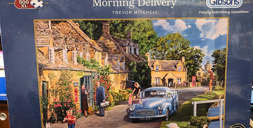 Gibsons: Morning Delivery 500XL piece